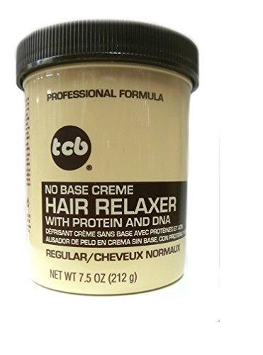 Relaxer / Glättungscreme TCB No Base Creme Hair Relaxer REGULAR - NORMAL 212g