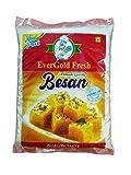 EverGold Fresh Besan - Fine Gram Flour (100% Chana Fine Besan), 500g