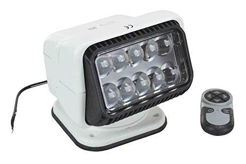 20004 Golight Wireless Remote Control LED Spotlight - 36 Watt LED - 900' Beam - Perm Mount