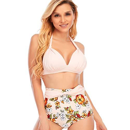 Honeststar Damen Push UpBikini Set Sexy Bikini Reizvoller Zweiteiliger Badeanzug Bademode Strand Bikinis Strandkleidung Bikinioberteil S-4XL