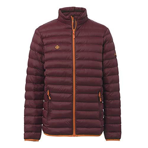 IZAS Fraser Veste en Fibre Homme, Rouge Minéral/Orange, FR (Taille Fabricant : XL)