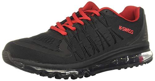 K-Swiss Tenis RYZER Zapatillas de Deporte Exterior para Hombre, Color Negro, 09.0