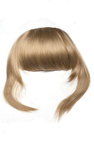 Frange à clipper, extension, longues mèches de côtés, blonde, forme particulièrement naturelle Q055-24