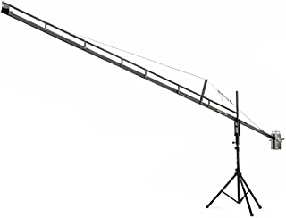 Flyfilms Professional 18ft Film Jib Crane with Stand Boom for Camera Upto 22 lbs for Cinemtographer, Photographer, Film Ma...