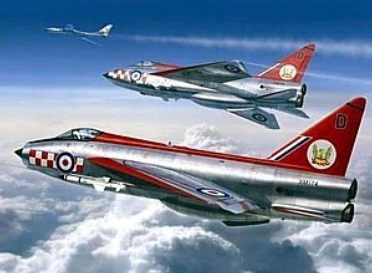 Trumpeter 1 32 - BAC EE Lightning F.1A F.3 by Trumpeter