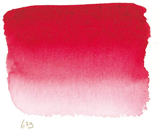 Sennelier L'Aquarell French Watercolor Half Pan Replacement, Quinacridone Red