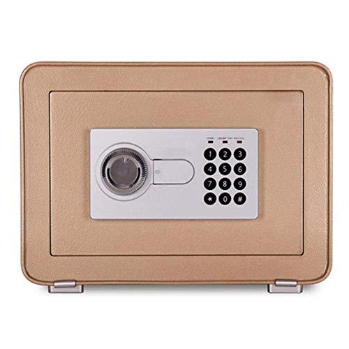 Cajas seguras Cajas fuertes digitales Caja fuerte, seguridad digital Caja fuerte electrónica con cajas fuertes de gabinete para documentos de identificación, documentos A4, computadoras portátiles, Jo