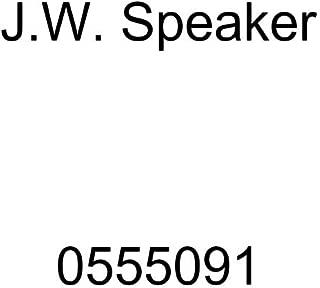 J.W. Speaker 0555091 Model 8690 LED High and Low Beam Adaptive Headlight with Black Inner Bezel
