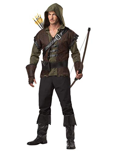 California Costumes Robin Hood Adult Costume, Olive/Brown, X-Large