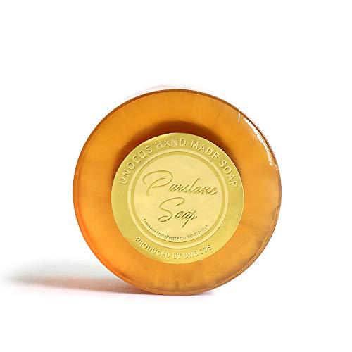 [UNOCOS] Purslane Herb Soap 120g / Dry & Flaky Prone Sensitive Skin Care/Korea