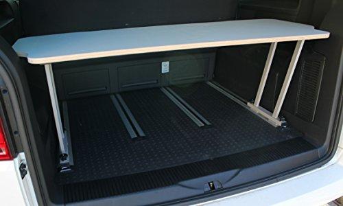 Bus-Boxx T5/T6 Multivan Multiflexboard consoles 51 cm T-stuk + Flexboard Flex