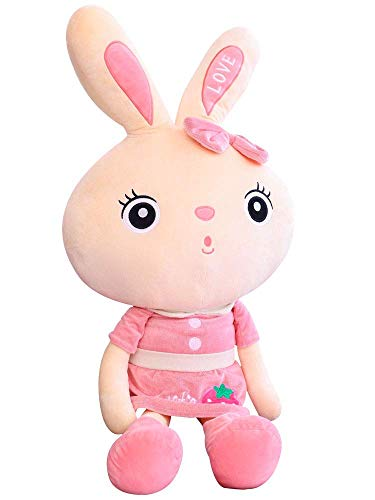 HEWE Adecuado para Conejo Peluche Juguete Chica Dormir Almohada Linda niña muñeca Caliente