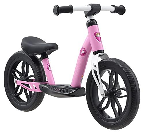 BIKESTAR Bicicletta Senza Pedali Extra Leggera per Bambino et Bambina 3 - 4 Anni | Bici Senza Pedali Bambini 12' Pollici Eco Classico | Rosa