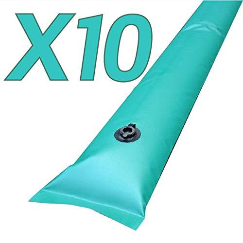 Zavattishop Kit di 10 salsicciotti tubolari da 1m per Telo Invernale Piscina