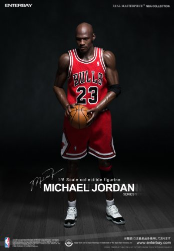 1/6 Real Masterpiece Collectible Figure / NBA Classic Collection: Michael Jordan 'I'm Legend # 23' load uniform ver (japan import)