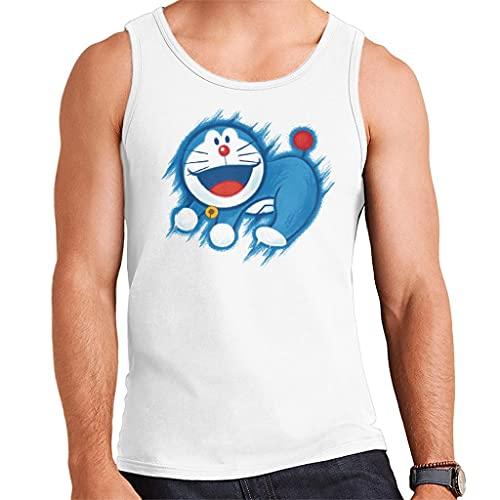 Doraemon The Time King Men's Vest