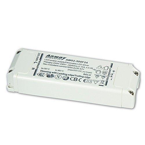00011923 - ANWAY LED Treiber AW02-500F24 21W/500mA/26-42V