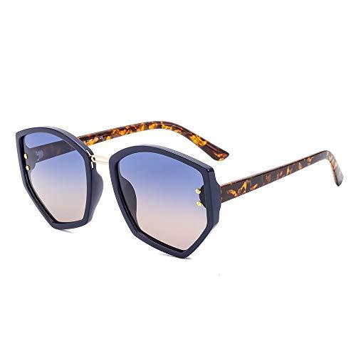 WDTYYJ polarisierte Sonnenbrille Persönlichkeit unregelmäßigen Sechseck männliche und weibliche Brille 5