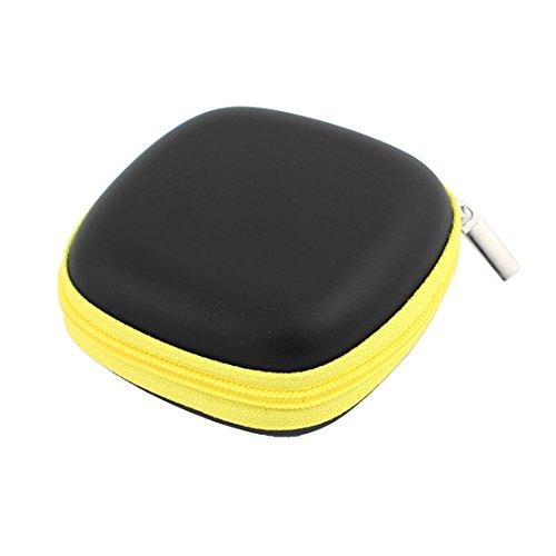 Aexit 82 x 80mm Mini Portable Kopfhörer Geldbörse Kopfhörer Fall Kabel Aufbewahrungsbox (cf1ef52487ff009e506954724acd3459)
