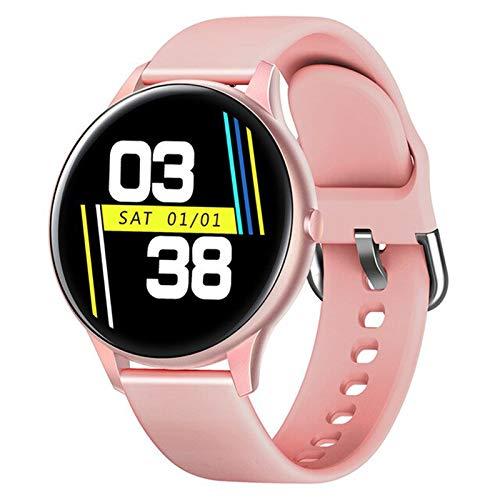 QKA Termómetro Smart Watch, Monitor De Temperatura del Cuerpo De Los Hombres Monitor De Seguimiento De Fitness, Monitoreo De La Presión Arterial, Reloj Inteligente Bluetooth,A