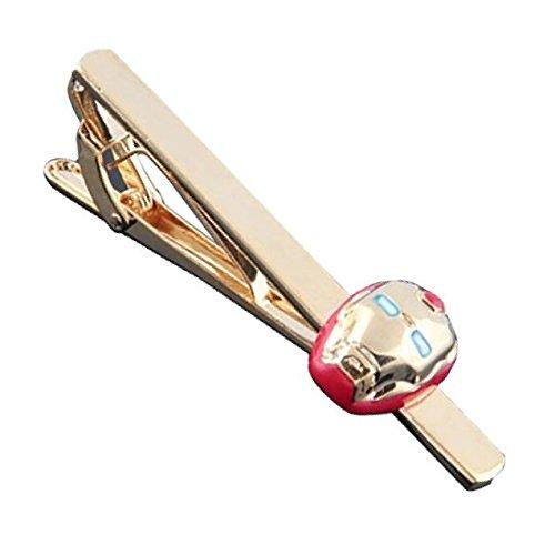 Gemelolandia Pasador de Corbata Iron Man   Pisa Corbatas Para usar en Bodas y en Eventos formales - Da un toque Elegante