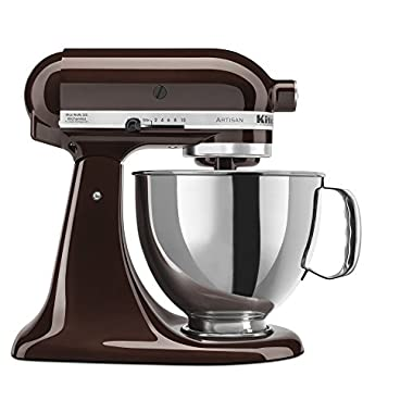 KitchenAid KSM150PSES Artisan Series 5-Qt. Stand Mixer with Pouring Shield - Espresso