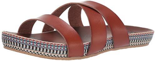 Billabong Women's Wrap Me Up Sandal Slide, Brown, 6 Medium US