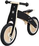 HyperMotion Bicicleta sin Pedales de Madera para niños a Partir de 3 años, Bicicleta de Madera con Asiento Ajustable, Bicicleta de Aprendizaje, 3,2 kg, hasta 35 kg