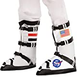 Spooktacular Creations Astronaut Boots (M) White