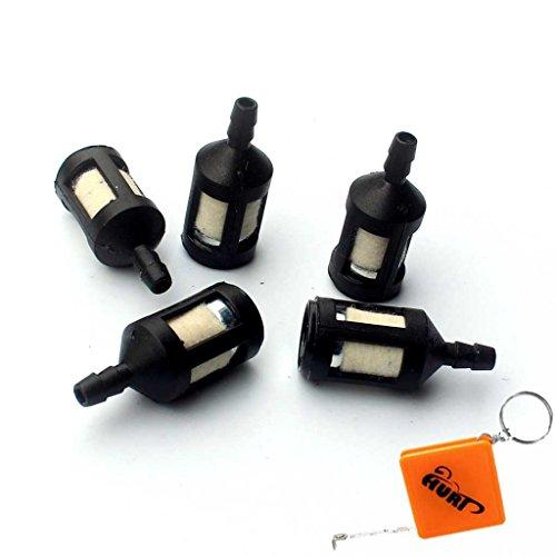 HURI 5 Benzinfilter Universal Modellbau Kettensäge für Trimmer Stihl Dollmar usw