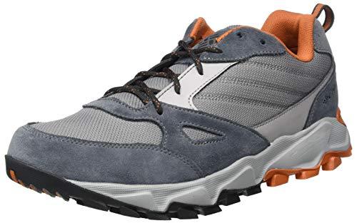 Columbia IVO Trail, Zapatillas para Carreras de montaña Hombre, Acero Gris/Cedro, 42.5 EU