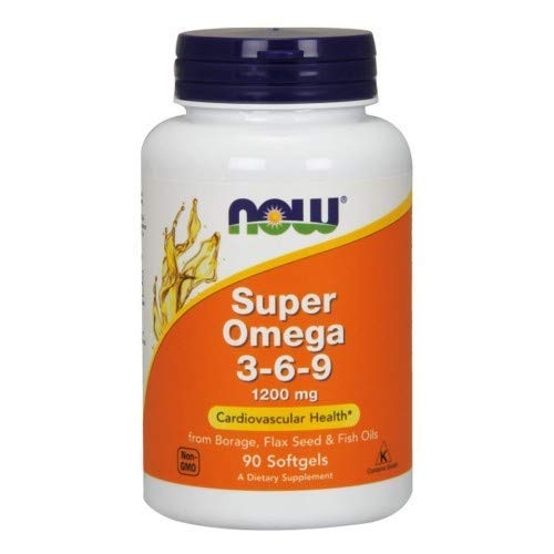 Super Omega 3-6-9, 1200 mg, 90 Sgels by Now Foods (Pack of 3)