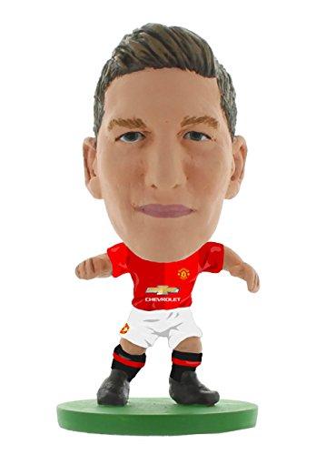 SoccerStarz SOC941 - Man Utd Bastian Schweinsteiger - Heimtrikot 2017 Ausgabe, Aktionsspielzeug