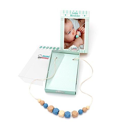Collar de Lactancia Mordedor de Silicona Antibacteriana Para Dentición Modelo Hera
