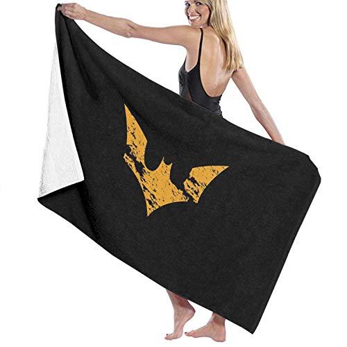 Custom made Toalla de playa rectangular con logo de Batman toalla de baño de microfibra manta de viaje 70 x 140 cm