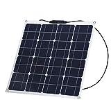 Panel Solar Flexible, Módulo De Panel Solar De Alta Eficiencia Panel Solar Flexible Portátil Para Carpas, Carros, Camiones Para El Hogar, Barcos, Yates, RV