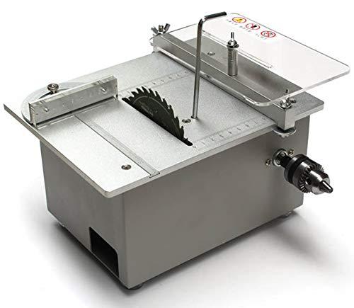 Tischkreissäge, Multifunktions-Minisäge, 895 Spindelmotor DC12V-24V Verstellbares Sägeblatt, Verwendet Für Handgefertigtes Holzmodellhandwerk Zum Selbermachen, Schneiden Von Leiterplatten