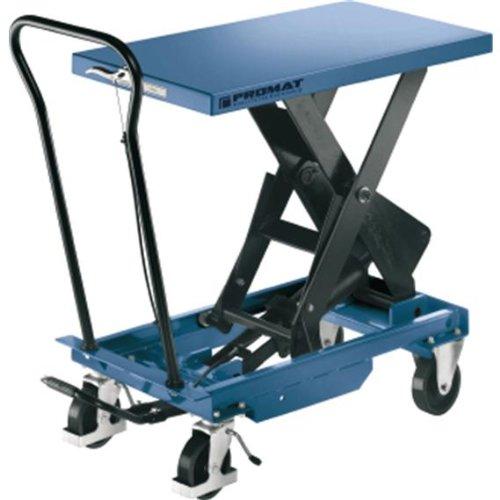 Scherenhubtischwagen Tischfläche L830xB500mm , Herstellerbestellnummer: 9000443401
