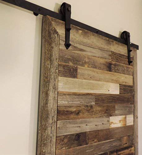 Amazon.com: Reclaimed Wood Sliding Barn Door, Decorative Farmhouse