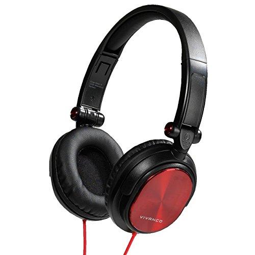 Vivanco DJ 30 36522 - Auriculares con Cable Tipo Diadema Alta Fidelidad, Plegables