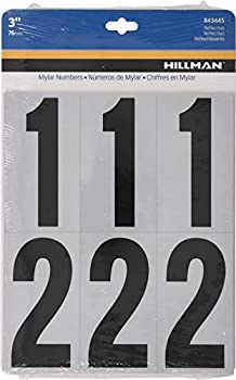 Best adhesive numbers for mailbox Reviews