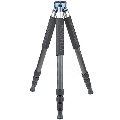 Novoflex TrioPod C2840 Professionelles Carbon-Dreibeinstativ für DSLRs, Systemkameras und Videokameras 151 cm Arbeitshöhe - Made in Germany