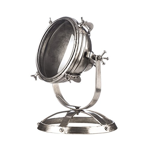 Premier PREM-2501777 tafellamp, metaal, zilverkleurig