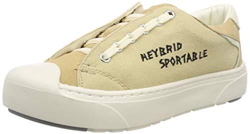 heybrid Sneaker mit Stickerei Damski Buty sneakersy, beżowy, 39 EU