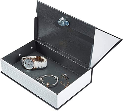 VENIVA Hidden Secret Book Safe Vault Box Jewelry Locker with 2 Keys, 24 x 15.5 x 5.5 cm, Multicolour