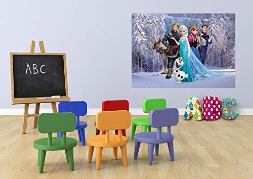 AG Design De Frozen de Tela de Fotos de Pared 160 x 115 cm (63 x 114,3 cm)