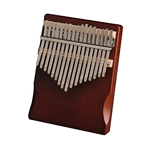 Kalimba, Daumenklavier 17 Keys Kalimba Daumen Finger Piano Pine Wood African Sanza Mbira Musikinstrument mit Tuning Tool Aufkleber for Anfänger und Kinder