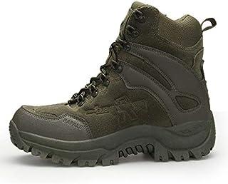 Calzature da escursionismo da uomo HCBYJ scarpa Gli Appassionati di Autunno e Inverno Militari allaperto Scarpe da Trekking Scarpe da Uomo Traspirante Antiscivolo Scarpe da Passeggio Utensili Tattici