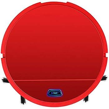 Robot Aspirador, Robot De Limpieza De Pisos,aspira Y Friega, con Sensores Anticaída, Bateria Ión-Litio (Rojo): Amazon.es: Hogar