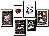 ARTFAVES® Poster Set - Coffee Love | Wanddeko Wohnzimmer &